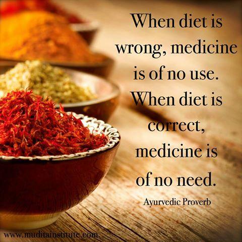 Voeding als medicijn - Ayurveda Wandelcoaching
