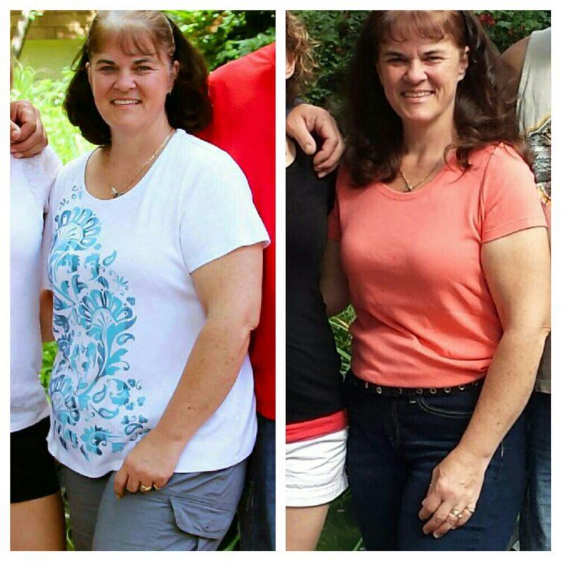 Voor en na gewichtsverlies - Ayurveda Wandelcoaching
