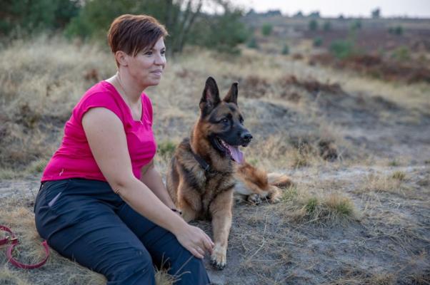 Ayurveda Wandelcoaching met hond